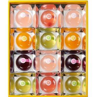 【夏ギフト】恵比寿製菓 フルーツもちもちゼリー(大)9123