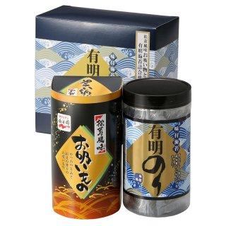 有明のり永谷園松茸風味お吸い物詰合せZNA-10 0035
