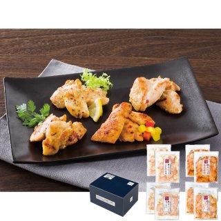 【夏ギフト】華味鳥 鶏トロジューシー焼き4種セット TJC-8【送料無料】0045