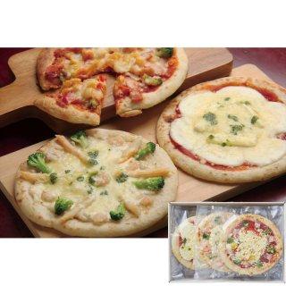 【夏ギフト】北海道チーズピザ3枚 450017【送料無料】0122