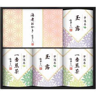 市田ひろみ 宇治茶ティーバック&米菓ギフト URA-40 0051