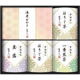 市田ひろみ 宇治茶ティーバック&米菓ギフト URA-35 0051