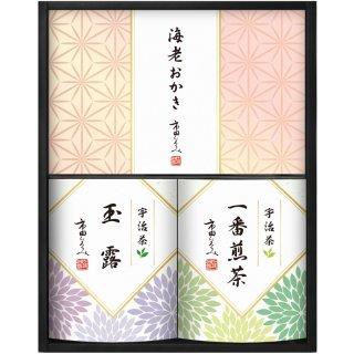 市田ひろみ 宇治茶ティーバック&米菓ギフト URA-25 0051