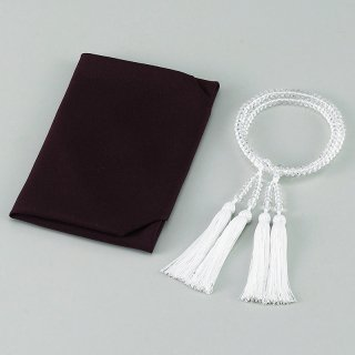 特撰 水晶二輪正絹松風頭房共仕立正絹ふくさ  401-5000 1801