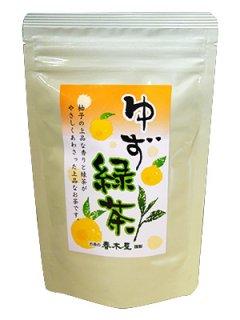 ゆず緑茶リーフ