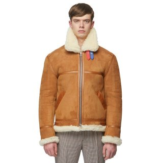 HOODED SHEEPSKIN