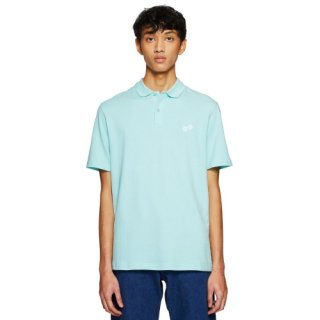 <img class='new_mark_img1' src='https://img.shop-pro.jp/img/new/icons16.gif' style='border:none;display:inline;margin:0px;padding:0px;width:auto;' />EMBROIDERED DICES AQUA POLO SHIRT