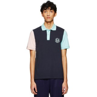 <img class='new_mark_img1' src='https://img.shop-pro.jp/img/new/icons16.gif' style='border:none;display:inline;margin:0px;padding:0px;width:auto;' />SERGIO TACCHINI X BAND OF OUTSIDERS POLO SHIRT NAVY