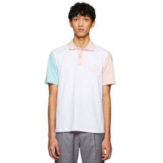 <img class='new_mark_img1' src='https://img.shop-pro.jp/img/new/icons16.gif' style='border:none;display:inline;margin:0px;padding:0px;width:auto;' />SERGIO TACCHINI X BAND OF OUTSIDERS POLO SHIRT WHITE