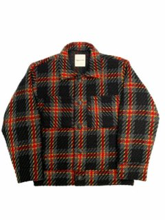 【Plaid Heavy Shirt Blouson】
