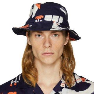【RISO PRINT BUCKET HAT】