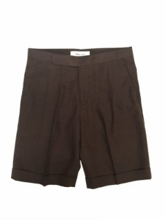 【2Tuck herringbone Shorts】