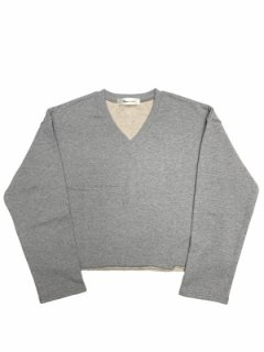 <img class='new_mark_img1' src='https://img.shop-pro.jp/img/new/icons1.gif' style='border:none;display:inline;margin:0px;padding:0px;width:auto;' />【V Neck Cut Off Sweat】
