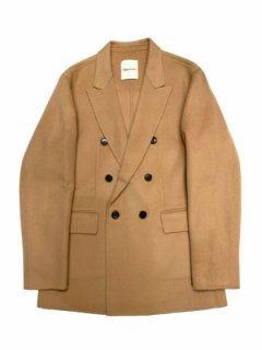 【Wool double breasted Jacket】