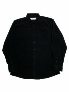 【Thin cord mid fit shirt】