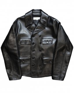 【DOUBLE MESS JACKET】Tanning cow leather