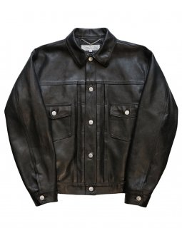 【TRUCK JACKET】Tanning cow leather