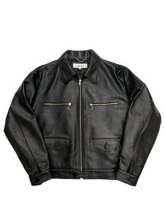 【DOME JACKET】Tanning cow leather
