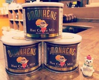 OMANHENE(オマンヒニ)社のココア缶