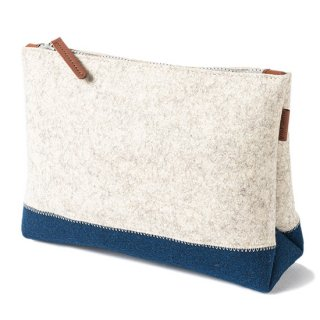 Two Tone Pouch Large