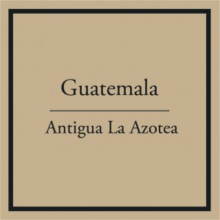 Guatemala La Azotea (中煎り) 100g