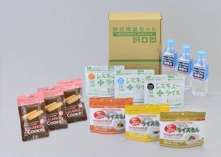 5年保存食料備蓄セット�(水あり)