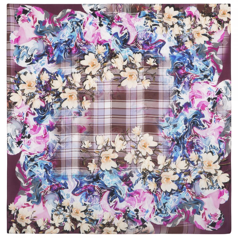 シルクスカーフ 89 Spring in Scotland ピートブラウン 商品詳細