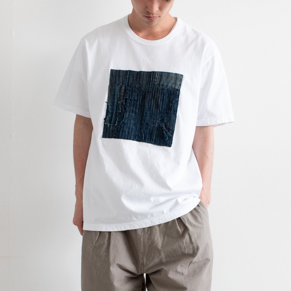 kuon 襤褸ボックスティー 1901T01 color:A(white) size:L