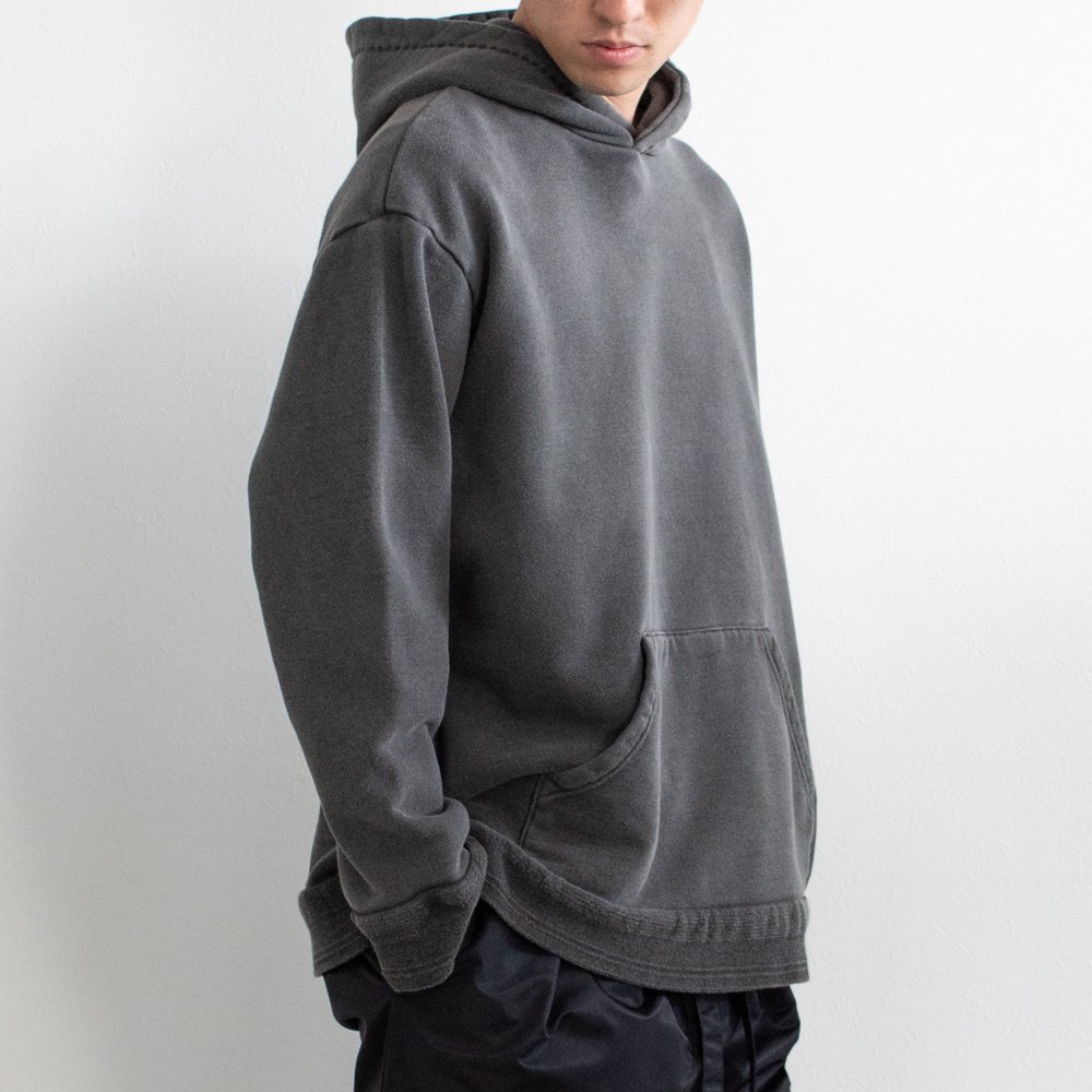 kuon  刺し子プルオーバーフーディー sus4-1901f01 color:B(black) size:XL