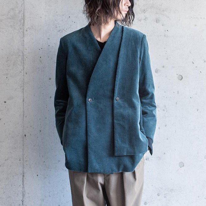 ethosens カラーレスレイヤージャケット  sus4-e219-401 color:B(green) size:2
