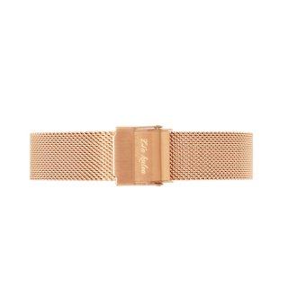 Mesh watch strap (pink gold)