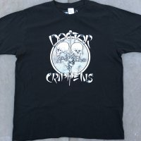 DOCTOR AND THE CRIPPENS official black Tshirt