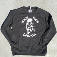 VOICE YOUR OPINION Sweat