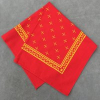lateuk original BANDANA RED&YELLOW