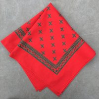 lateuk original BANDANA RED&GREEN