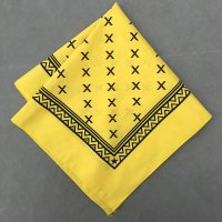 lateuk original BANDANA YELLOW&BLACK