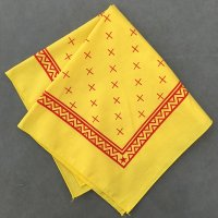 lateuk original BANDANA YELLOW&RED