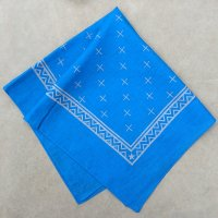 lateuk original BANDANA BLUE&WHITE
