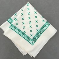 lateuk original BANDANA NATURAL&GREEN