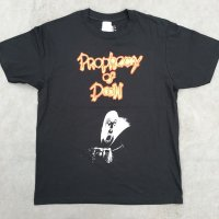 PROPHECY OF DOOM official Tshirt type3-抜染プリント-