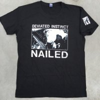 DEVIATED INSTINCT official Nailed Tshirts