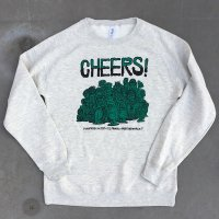CHEERS! PUNK Sweat-oatmeal-