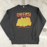 CHEERS! PUNK Sweat-black-