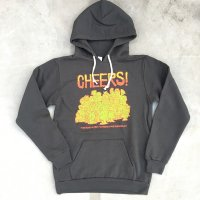 CHEERS! PUNK Hooded-black-