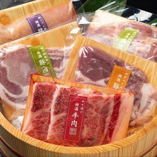 豚肉だけの4種詰合せ『道』