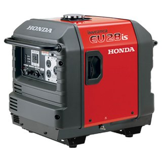 honda 発電機 EU28is-JNA2 車輪無し インバーター発電機 セルスターター(電動)併用式