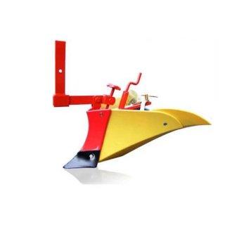 ホンダ耕運機パンチ・エックス F402/パンチF503用 ニューイエロー培土器(尾輪付)(10895)
