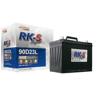 KBL RK-S Super バッテリー 70B24L-R メンテナンスフリータイプ 振動対策 状態検知 メーカー直送・代引不可