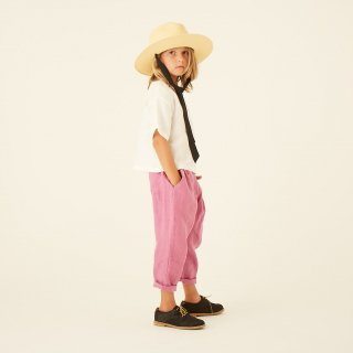 <img class='new_mark_img1' src='https://img.shop-pro.jp/img/new/icons20.gif' style='border:none;display:inline;margin:0px;padding:0px;width:auto;' />【50%off】 linen canvas pants / pink / eLfinFolk