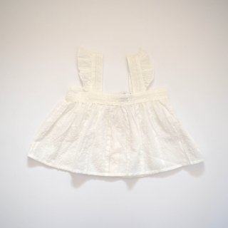 <img class='new_mark_img1' src='https://img.shop-pro.jp/img/new/icons20.gif' style='border:none;display:inline;margin:0px;padding:0px;width:auto;' />【50%off】 lace plumeti baby blouse / off white / tocoto vintage
